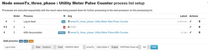 pulse counter process screenshot