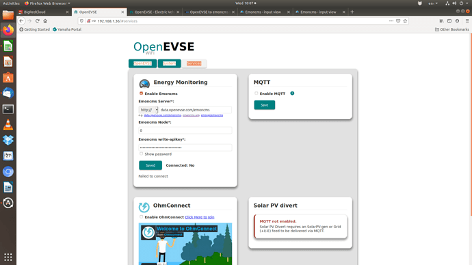 OpenEVSEServices