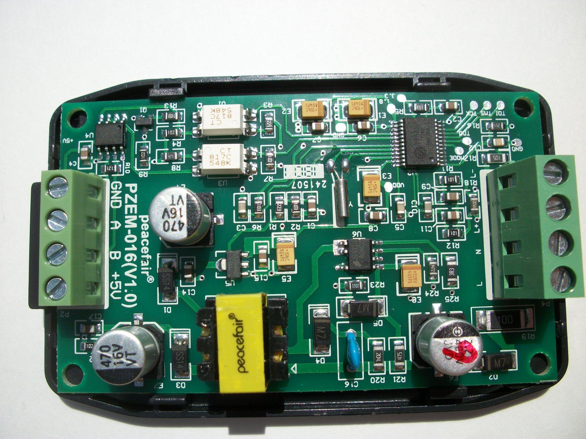 PZEM-016 single phase modbus energy meter - Hardware - Community