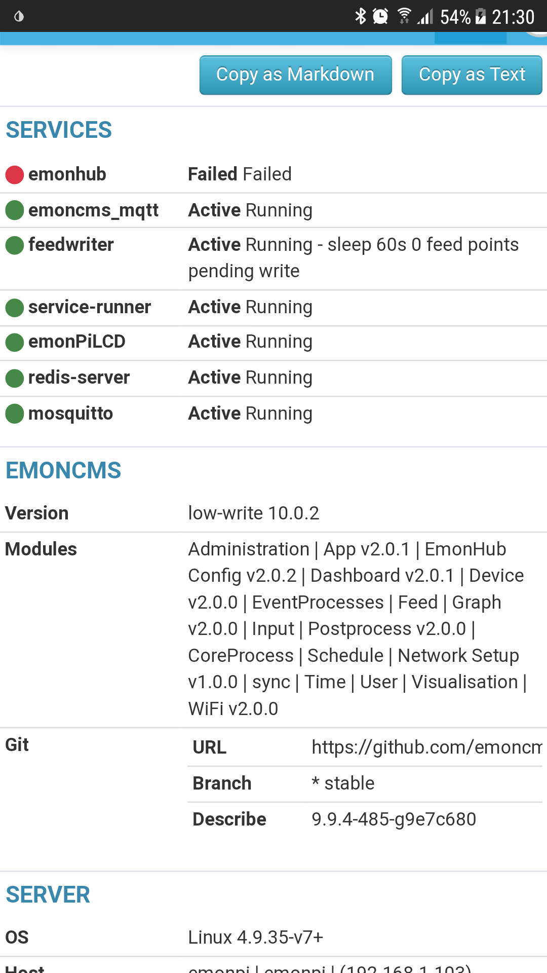 Emoncms V10 0 0-beta master branch release - Emoncms - Community