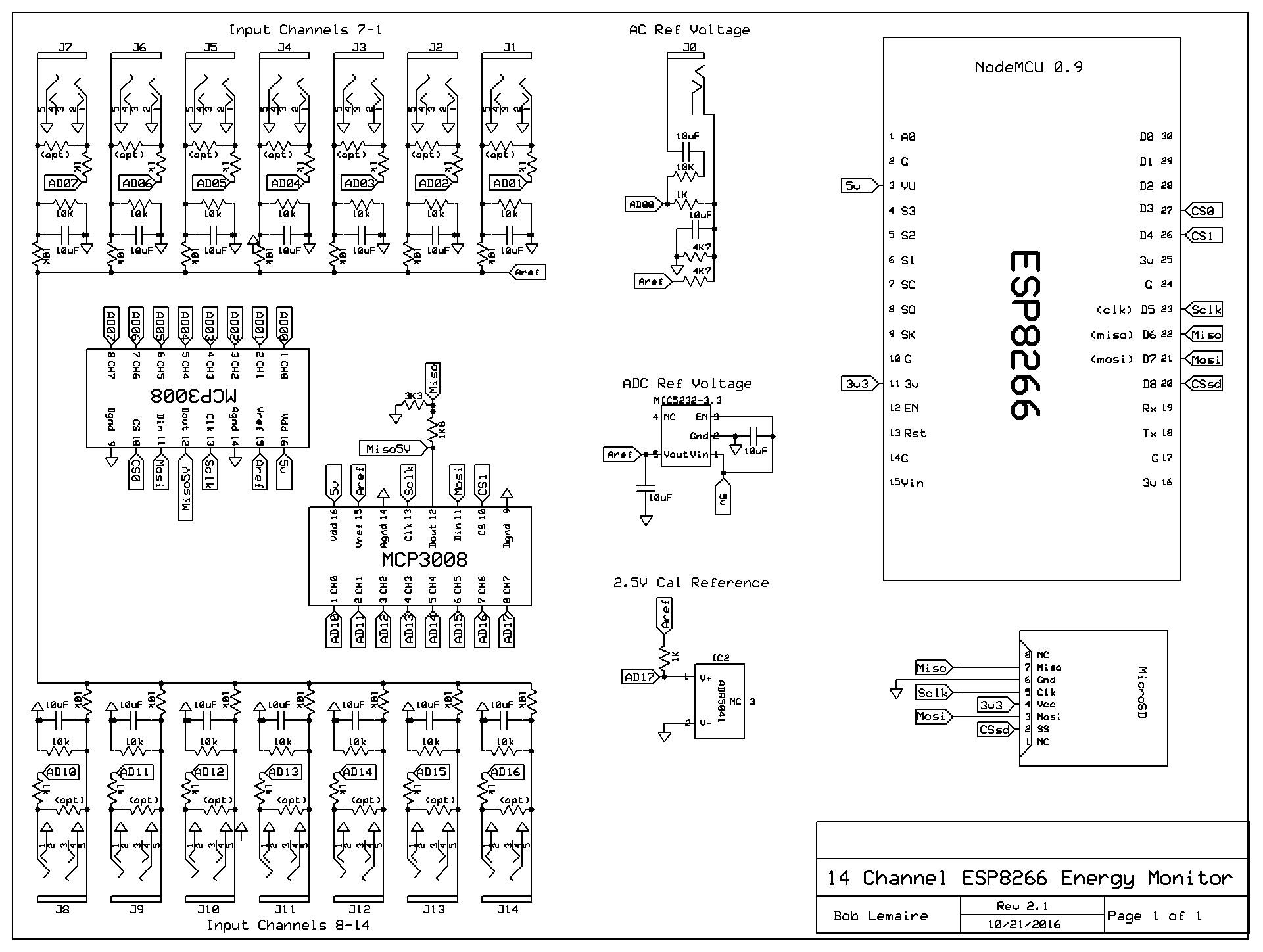 ESP8266 WiFi power monitor - IoTaWatt - Community