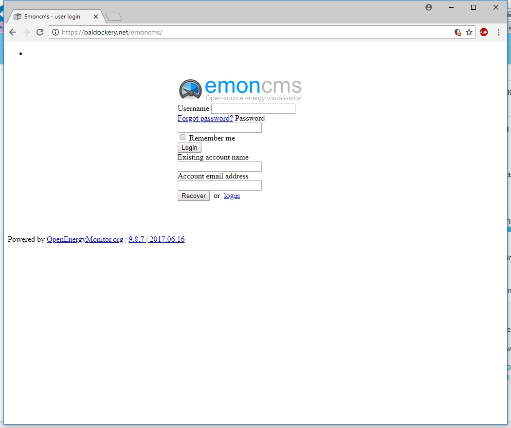 Problems Running emonCMS Behind Reverse Proxy with SSL on Separate
