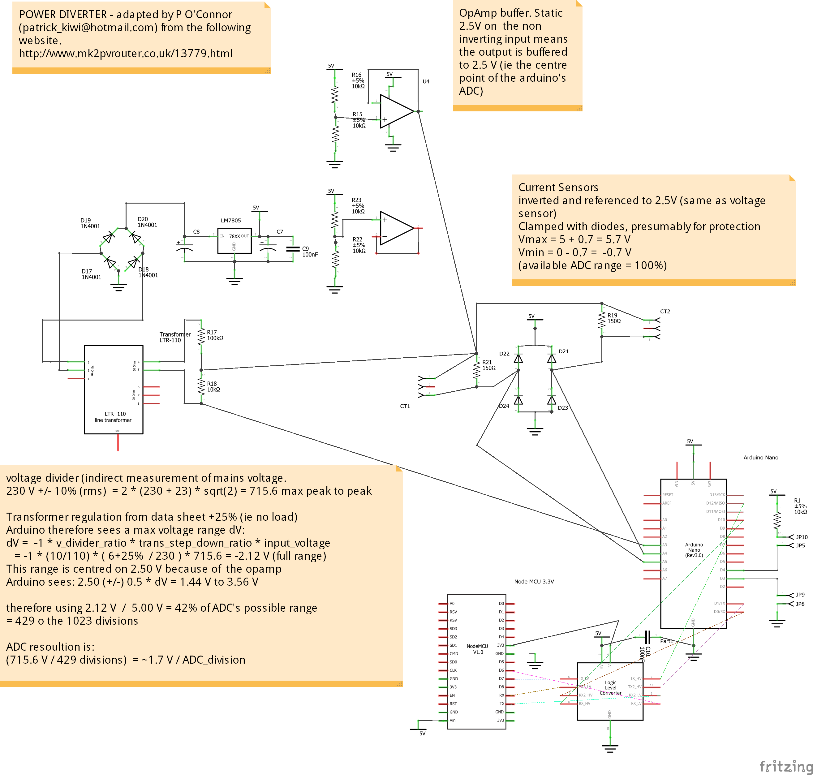 Arduino Nano ESP8266 MK2 PV router hybrid - Hardware - Community