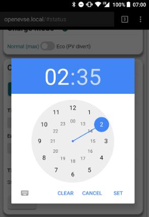 mobile-clock
