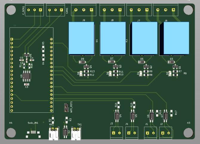 ESPcontroller-NG PCB
