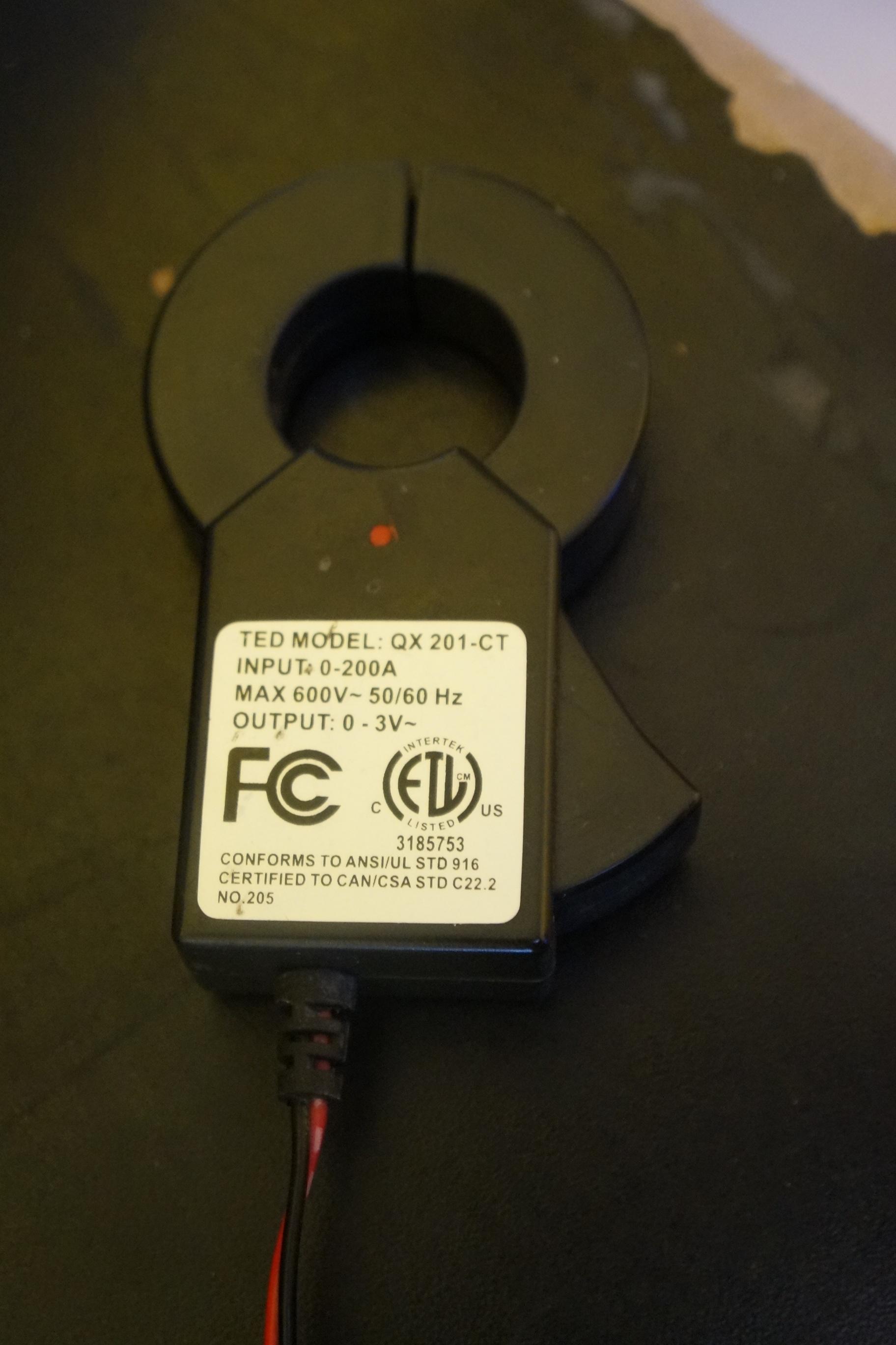 The Energy Detective >> Ted The Energy Detective 1001 Or 5000 Mtu To Emoncms Hardware